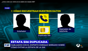 Antena 3 Espejo Público SIM SWAP