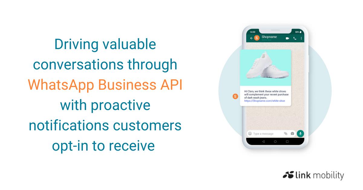 WhatsApp Business API, value conversations